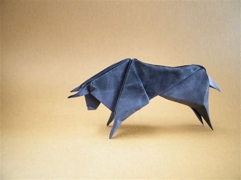Origami Bull - origami arte piegare la carta by renzo zanoni book