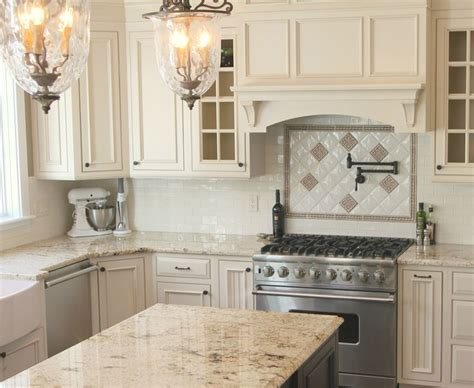 white kitchen beige countertop the 25 best ideas about light granite countertops on