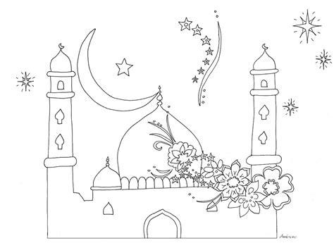 Coloriage Islam Ramadan