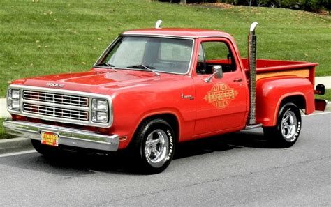 1979 Dodge Lil Red Express   1979 Dodge Pickup For Sale To