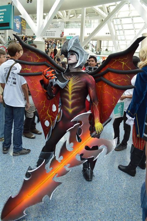 aatrox league  legends cosplay art  lol