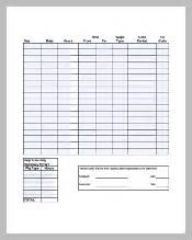 overtime spreadsheet template timesheet template 252 free sle exle format