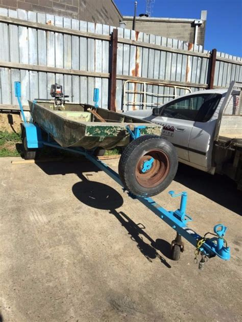 punt tinny boat for sale punt with trailer and motor tinny tinnie aluminium boat