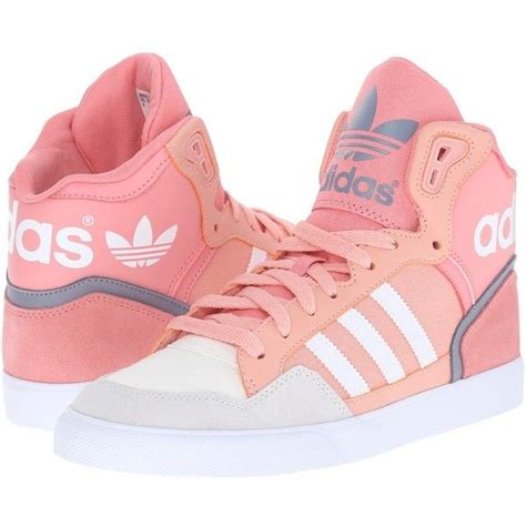 adidas originals extaball w s classic shoes 70 liked on polyvore featuring shoes high