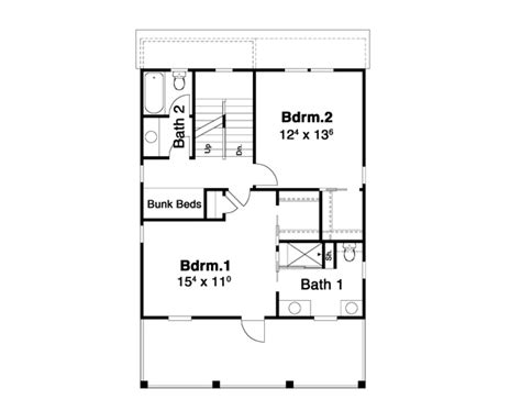 house layout key hemingway 6267 2 bedrooms and 2 baths the house designers