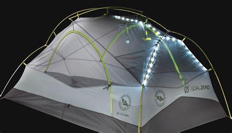 Big Agnes New Solar Powered Tents Feed Lights Phones Solar Tent Lights