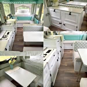 Pop Up Camper Interior Design Amy Bell S Pop Up Camper Makeover The Pop Up Princess