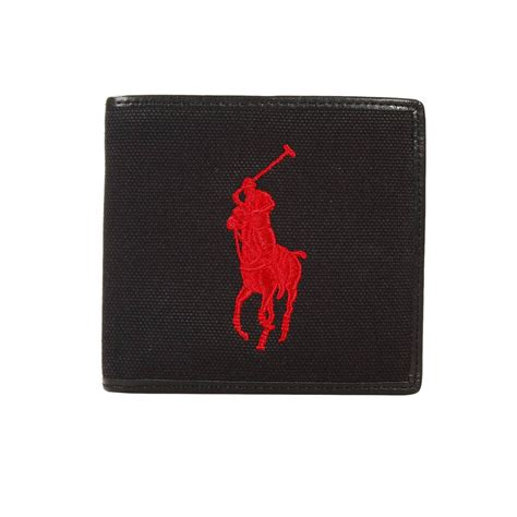Ralph Lauren E Gift Card - polo ralph lauren wallet leather and canvas with big pony embroidery credit cards