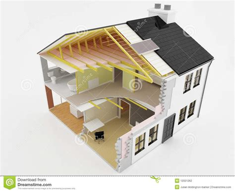 2 Bedroom 2 Bathroom House Plans New House Construction Stock Photography Image 12051262