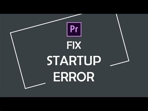 Adobe Premiere Pro Startup Error   how to fix display driver stopped responding and has r