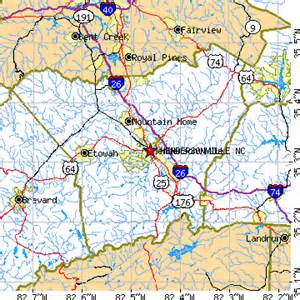 map of hendersonville carolina hendersonville carolina nc population data
