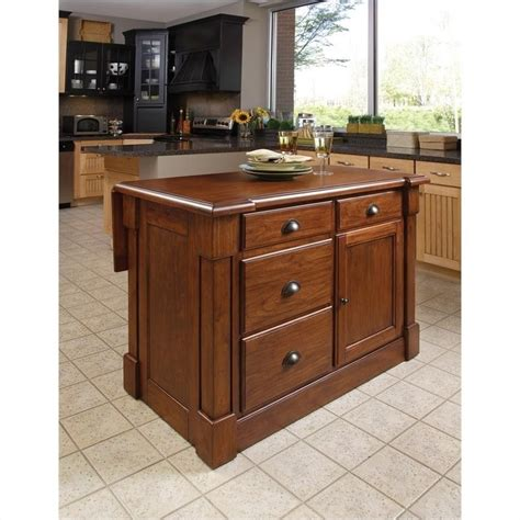 Home Style Kitchen Island Home Styles Aspen Island Bar Stools 3 Pc Set Kitchen Cart
