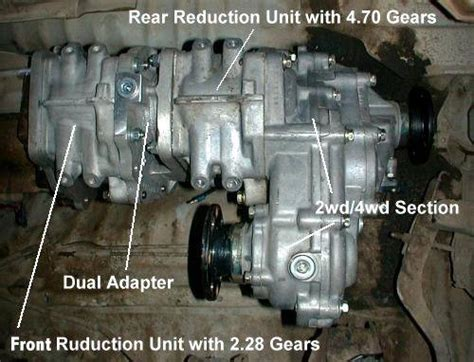 project rock runner quot dual ultimate quot transfer case