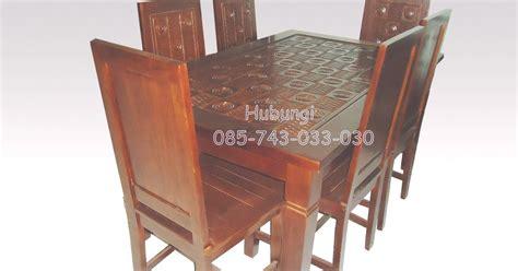 Meja Makan Dari Kayu Jati meja makan kayu jati furniture jati