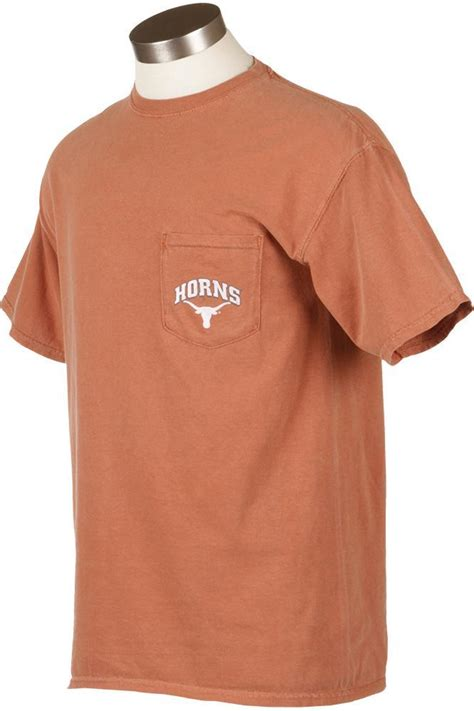 comfort colors pocket t shirts texas comfort colors pocket t shirt from university co op