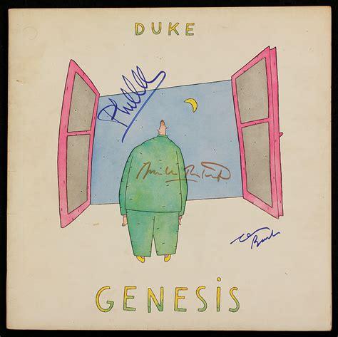 genesis duke album lot detail genesis signed quot duke quot album