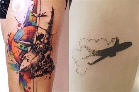 40 tatuajes de aviones con diferentes dise 241 os y su