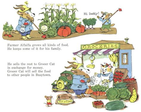 richard scarry s the animals of farmer jones golden board book books what do do all day enterprise irregulars