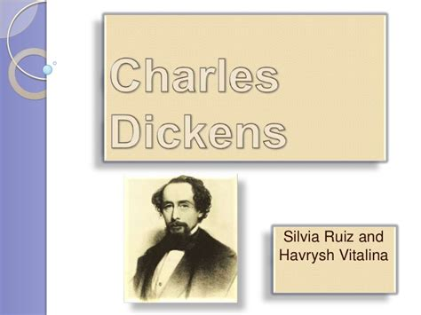 charles dickens biography slideshare charles dickens 2