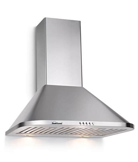 Chimney Installation In Kitchen by Sunflame 60cm 1100 Matrix 60 Ss Bf Chimney Available At Snapdeal For Rs 7715