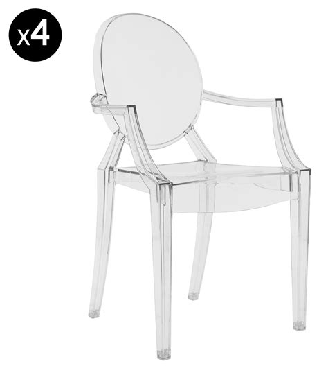 chaises plexiglass chaise plexiglass pas cher 2 chaises plexi starck table