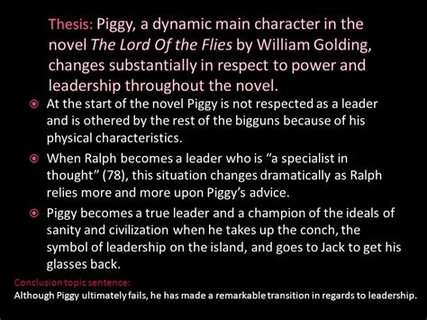 Lord Of The Flies Ralph Essay by Lord Of The Flies Essay Tips And Exles Ppt