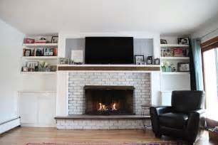 fireplace renovation this lovely home