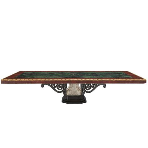 Iron And Marble Coffee Table Italian 19th Century Marble Wrought Iron And Ormolu Coffee Table For Sale At 1stdibs