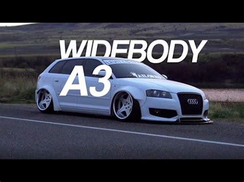 Audi S3 Wagon by Widebody Bagged Audi A3 Wagon