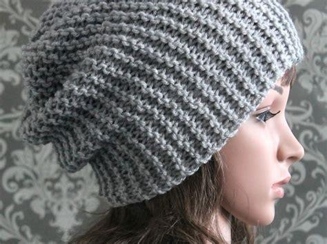 knitting pattern websites easy slouchy hat knitting pattern