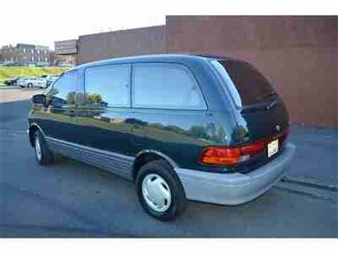 books about how cars work 1997 toyota previa parental controls buy used 1997 toyota previa awd supercharged no reserve in