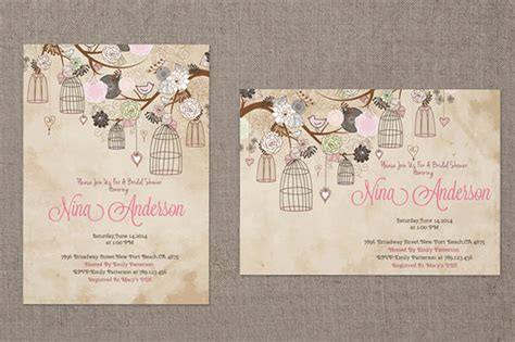 baby shower card template psd 32 baby shower card designs templates word pdf psd