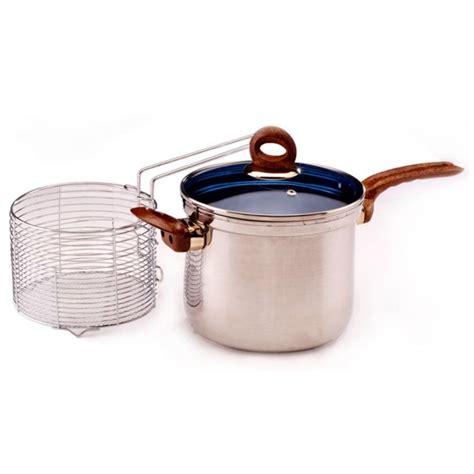 Panci Untuk Mengukus panci penggorengan serbaguna alat penggoreng kentang