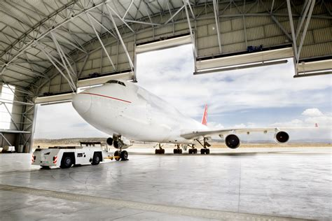 Aircraft Hangars by Bird Spikes For The Aviation Industry Bird B