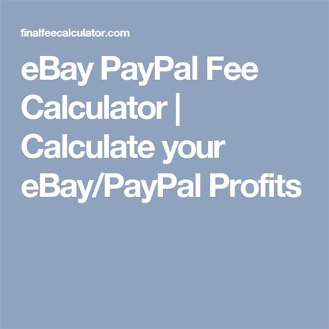 ebay paypal fee calculator 1000 images about she works hard 4 the on pinterest