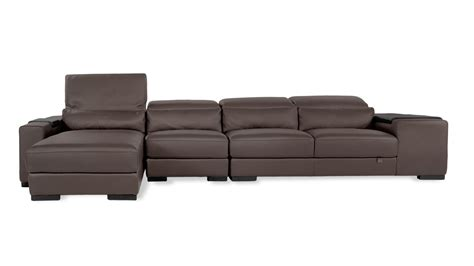 zuri furniture leather sectional sofa zuri furniture