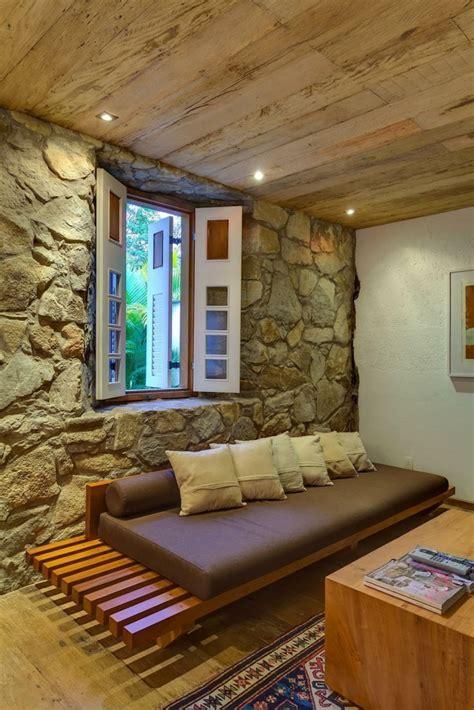 wohnzimmer steinwand steinwand wohnzimmer 43 beispiele wie steine auf das