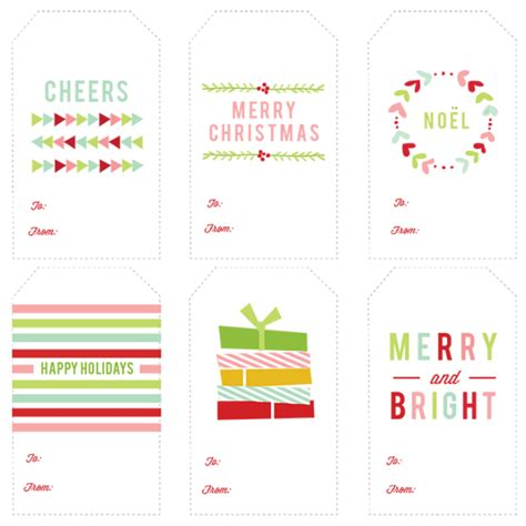 free printable christmas cards colorful modern christmas colorful free printable christmas gift tags paper crush