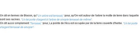 Terrasse Definition by Terrasse La D 233 Finition