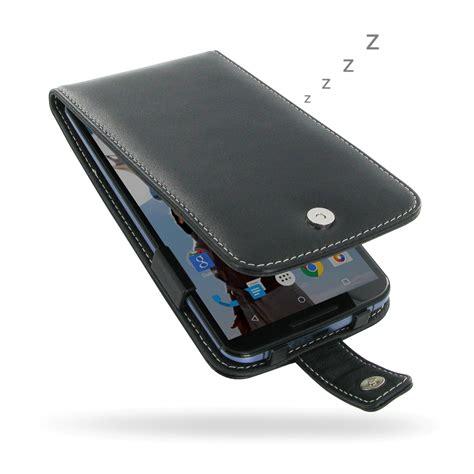 Nexus Generasi 1 Leather Flip Cover Flip nexus 6 leather flip cover pdair sleeve