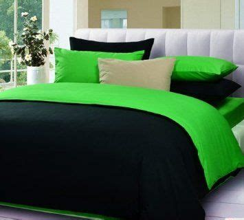 Green And Black Bedding Sets Black And Green Bedding Set Comforter Sets Green Bed In A Bag Home Kitchen