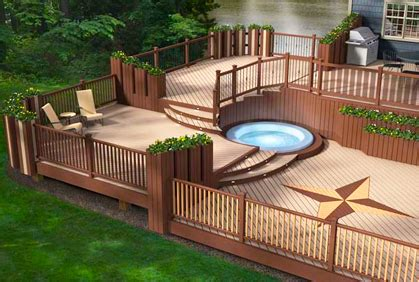 best composite decking ideas 2017 deck design plans