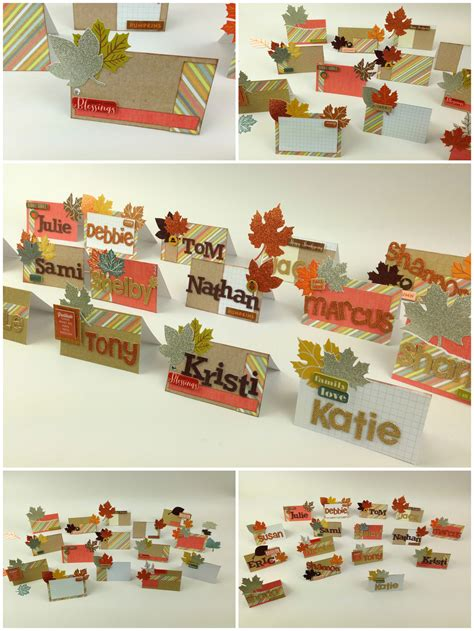 place ideas diy thanksgiving place cards me my big ideas