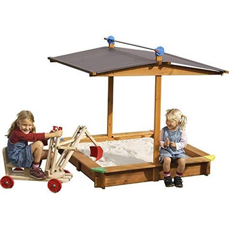 mobiler sandkasten sandkasten mickey mit absenkbarem dach garten