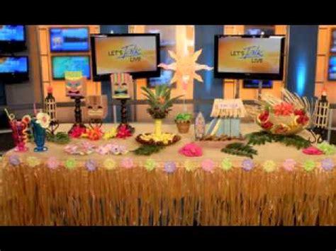 hawaiian christmas party ideas best hawaiian decorations ideas