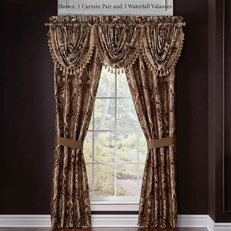 croscill window curtains bradney damask window treatment by croscill
