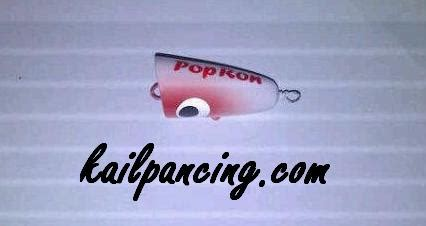 popping fishing lanjutan kail pancing dot