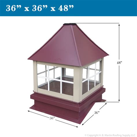 cupola roof custom cupolas from a b martin roofing supply