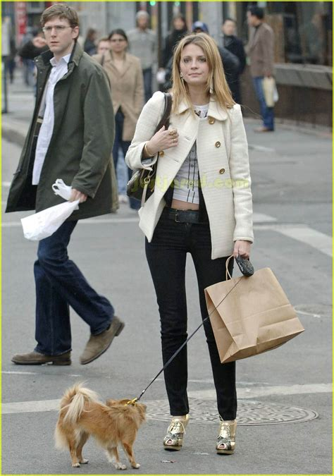 Mischa Takes A From The Keds Promotion by Mischa Barton Takes A Bite Outta The Big Apple Photo