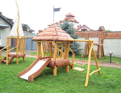 cabanne jardin enfant jeux d enfants dans le jardin cr 233 ez un espace adapt 233